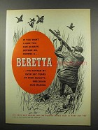 1967 Beretta Firearms Ad - Always Depend On