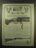 1967 Ruger No. 1 Single-Shot Rifle Ad - Great Sporting