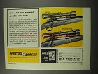 1967 Weaver Model V7 and V8 Scopes Ad - Advanced