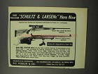 1967 Schultz & Larsen 68DL Sporting & 62 Match Rifle Ad