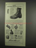 1966 Eddie Bauer Ad - Hunting Pacs Boots, Malone Pants
