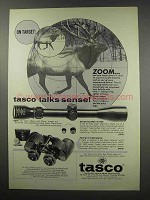 1966 Tasco Ad - Super Marksman #620 Scope, Binoculars