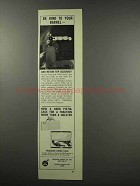 1966 Hodgdon Powder and Handi Case Ad - Be Kind