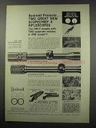 1966 Bushnell ScopeChief II Scope Ad!