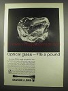 1966 Bausch & Lomb Scopes Ad - Optical Glass