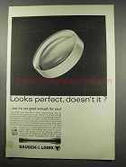1966 Bausch & Lomb Scopes Ad - Looks Perfect?