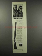 1966 Charles Daly Shotgun Ad - Trap, Skeet, In Field