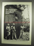 1966 Charles Daly Shotgun Ad - Well-Balanced Family
