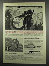 1966 Lyman Ad - Scopes, Sights and Cutts Compensator