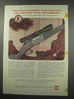 1966 Redfield Scopes Ad - Better than Necessary