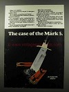 1966 Winchester Mark 5 Shotgun Shell Ad - The Case