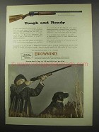 1966 Browning Automatic-5 Shotgun Ad - Tough and Ready
