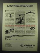 1966 Ithaca RVD Deluxe Featherlight Shotgun Ad