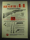 1966 Ruger .44 Magnum Carbine Ad - Own Class