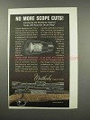 1966 Weatherby Imperial Scope Ad - No More Cuts