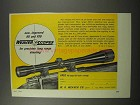 1966 Weaver K8 and K10 Scopes Ad - New, Improved