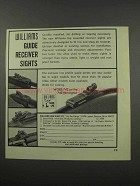 1966 Williams Gun Sight Ad - Guide Receiver Sights