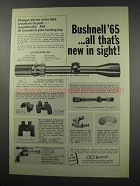 1965 Bushnell ScopeChief II Scope Ad - All That's New