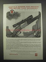 1965 Redfield Scopes Ad - Better Than Necessary