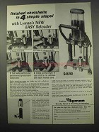 1965 Lyman Easy Reloader Ad - Finished Shotshells