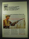 1965 Remington Model 1100 Shotgun Ad - Need Another