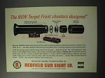1965 Redfield Gun Sight Ad - Front Shooters Designed