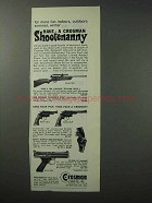 1965 Crosman Gun Ad - Model 160, 38-C, 38-T and 600