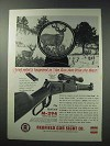 1964 Redfield M-294 Scope and Mount Ad - Won the West