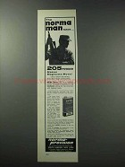 1964 Norma 205 Powder Ad - The Norma Man Says