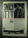 1964 Bausch & Lomb Scopes Ad - Switch It!