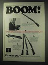 1964 Charles Daly Shotgun Ad - Field Grade Over-Under +