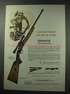 1964 Browning .22 Automatic Rifle Ad - Rugged Compact