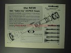 1964 Leupold Golden-ring Scopes Ad - Inside