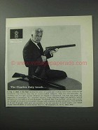 1964 Charles Daly Shotgun Ad - The Charles Daly Touch