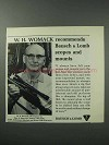 1964 Bausch & Lomb Scopes Ad - W.H. Womack