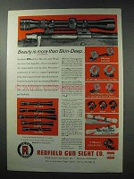 1963 Redfield Scopes Ad - Beauty More than Skin-Deep
