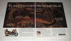 1987 Yamaha Venture Royale Motorcycle Ad - Try Riding