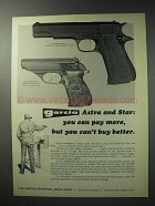 1971 Garcia Astra Constable and Star Pistol Ad