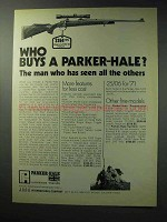 1971 Parker-Hale 1200 Rifle Ad - Seen All The Others