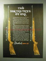 1971 Weatherby Mark XXII Deluxe Rifle Ad - Price of One