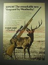 1971 Weatherby Vanguard Rifle Ad - Remarkable