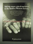 1971 Smith & Wesson Handguns Ad - Critical Machines