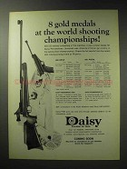 1971 Daisy Feinwerkbau 4300 Air Rifle, and 65 Pistol Ad