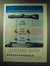 1971 Bushnell Lok-On Scope Mounting System Ad