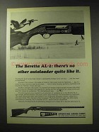 1971 Beretta AL-2 Shotgun Ad - No Autoloader Like It