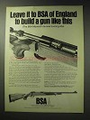 1971 BSA Monarch de-luxe Hunting Rifle Ad!