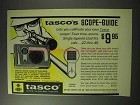 1971 Tasco Scope-guide Ad - Let's You Collimate