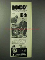 1971 Hodgdon H335 Powder Ad - Goes Varmint Hunting