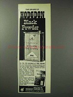 1971 Hodgdon Black Powder FFG Ad