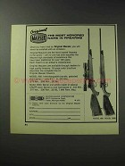 1971 Mauser Model 660 and 3000 Rifle Ad